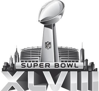 2014 Super Bowl XLVIII Logo