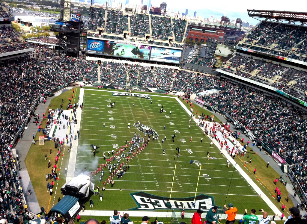 Philadelphia Eagles Home Stadium Lincoln Financial Field